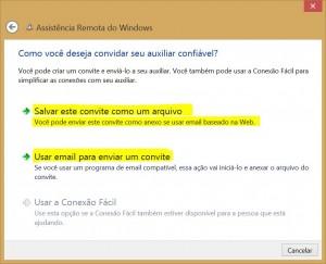assistencia remota windows salvar arquivo