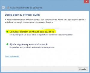 suporte remoto windows