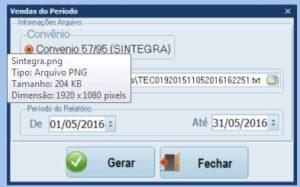 PAF-ECF-Arquivo-Sintegra
